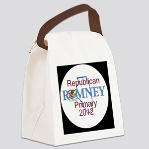 Romney ILLINOIS Canvas Lunch Bag