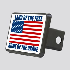 HOMEOFTHEBRAVE Rectangular Hitch Cover