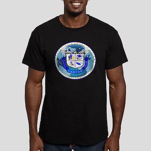 Official Carter Logo Men's Fitted T-Shirt (dark)