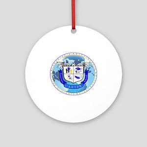 Official Carter Logo Round Ornament