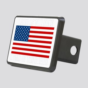 HOMEOFTHEBRAVEdark Rectangular Hitch Cover