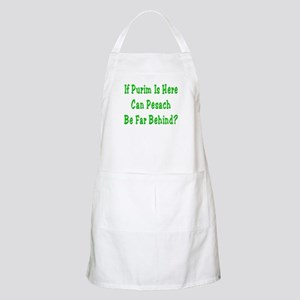 Purim is Here Pesach is Near BBQ Apron