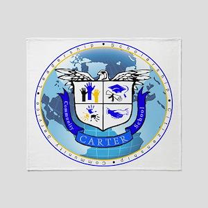 Official Carter Logo Throw Blanket