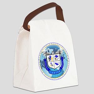 Official Carter Logo Canvas Lunch Bag