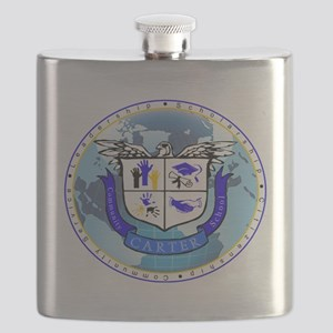 Official Carter Logo Flask