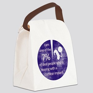 7percent-1 Canvas Lunch Bag