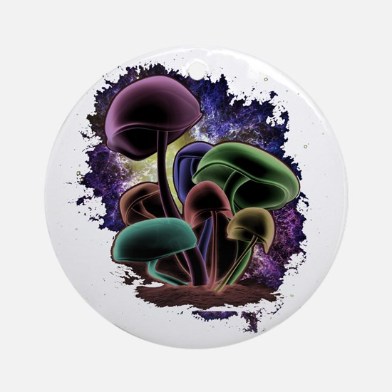 Nebula_Door Round Ornament