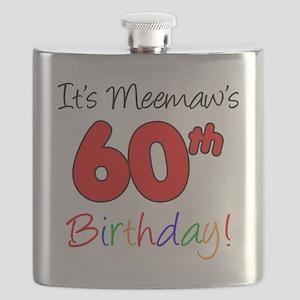 Meemaw 60th Birthday Flask