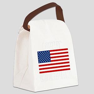 LOVEITdark Canvas Lunch Bag