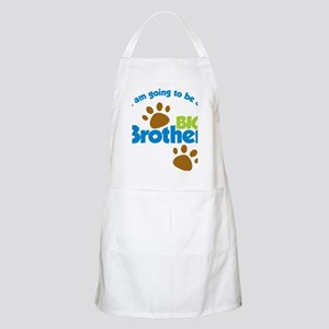 DogPawPrintBigBrotherToBe Apron