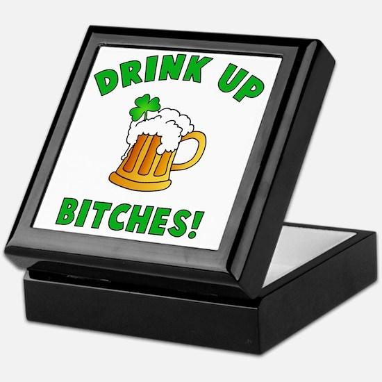 Drink Up Keepsake Box