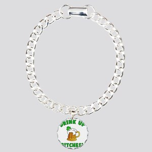 Drink Up Charm Bracelet, One Charm