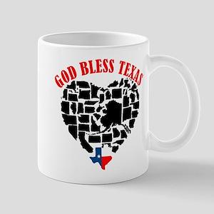 GOD BLESS TEXAS Mugs