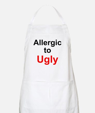 Allergic to Ugly BBQ Apron
