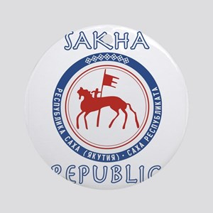 Sakha Republic (Yakutia) Round Ornament