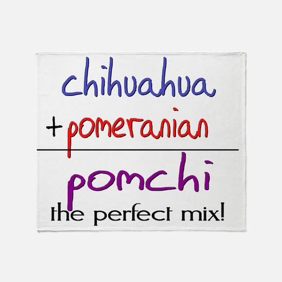 pomchi Throw Blanket