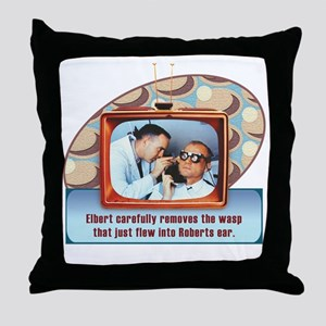 cp-rtv-apparel-wasp Throw Pillow