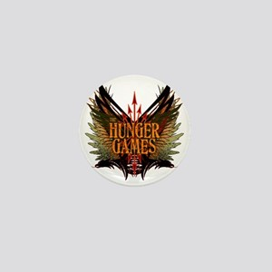 hunger games with wings and arrows cop Mini Button