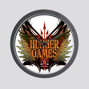 hunger games with wings and arrows copy Wall Clock