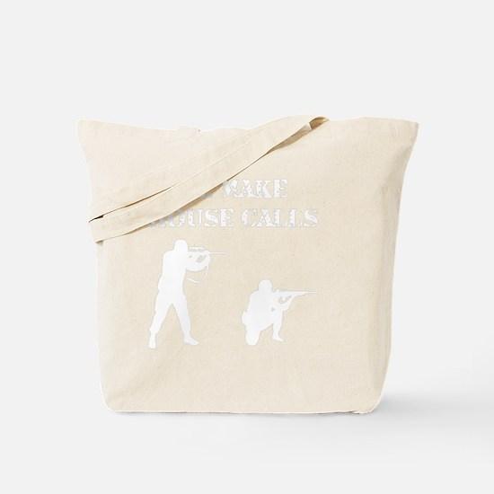House Calls White Tote Bag