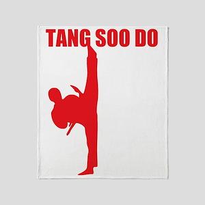 Tang Soo Do Dark Throw Blanket