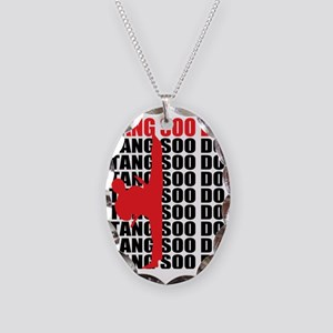 Tang Soo Do Light Necklace Oval Charm