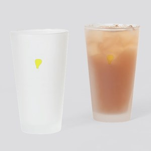 Save Energy White Drinking Glass