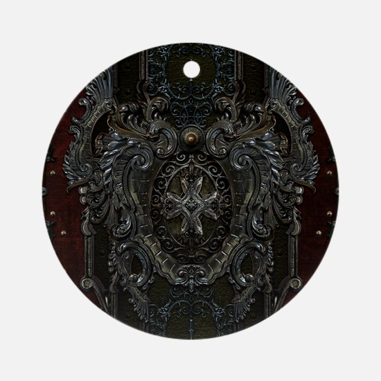 Rhema Round Ornament