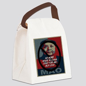 no_more_made_in_china_crap Canvas Lunch Bag