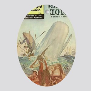 MOBY DICK BIG 4000 Oval Ornament