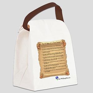 WCHTrueCamper10x10 Canvas Lunch Bag