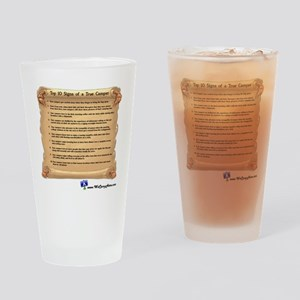 WCHTrueCamper10x10 Drinking Glass
