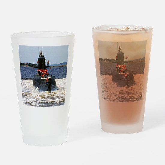 mgvallejo large framed print Drinking Glass