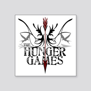 """best hunger games t-shirts  Square Sticker 3"""" x 3"""""""