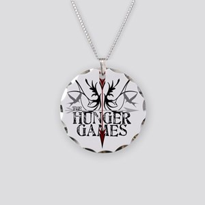 best hunger games t-shirts h Necklace Circle Charm