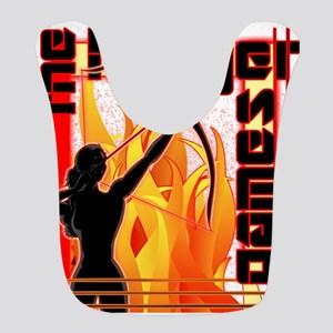 katniss on fire version 6 copy Bib