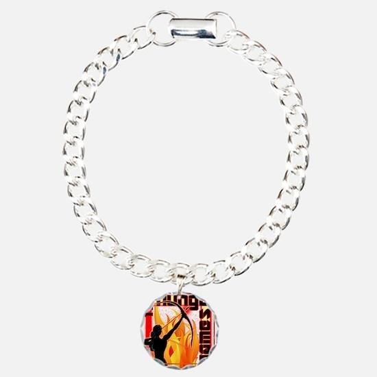 katniss on fire version  Bracelet