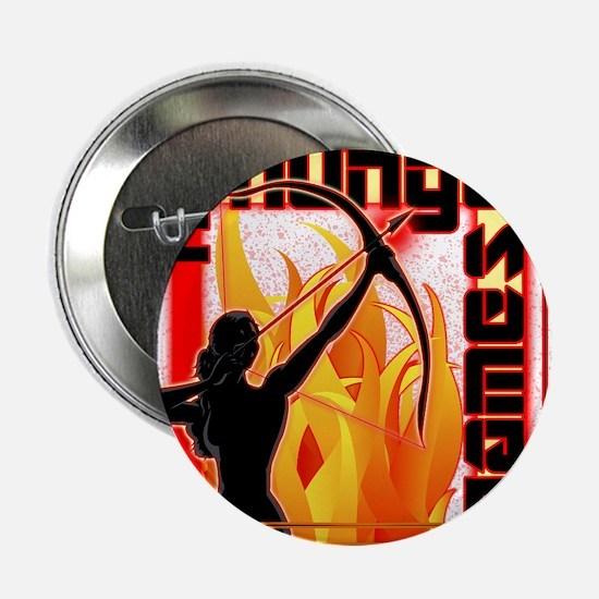 "katniss on fire version 6 copy 2.25"" Button"