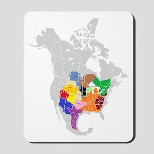 panem map Mousepad