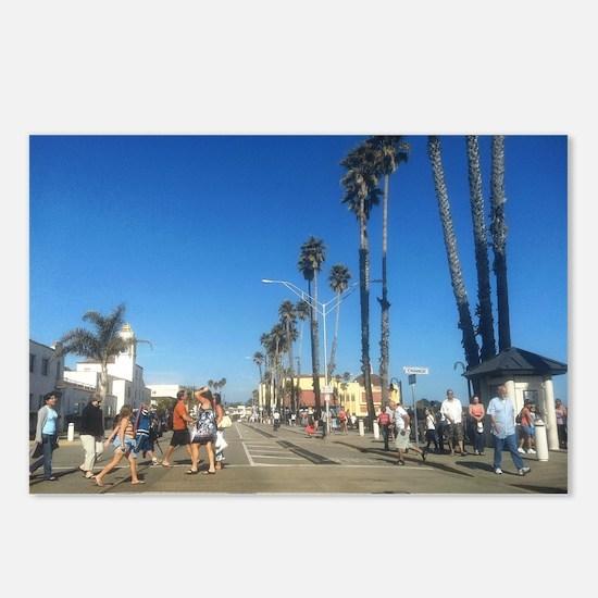 BeachStreet-1.GIF Postcards (Package of 8)