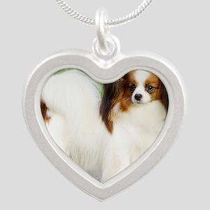 Papillon AC032D-037 Silver Heart Necklace