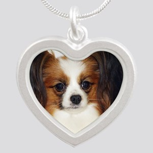 Papillon AC032D-056 Silver Heart Necklace