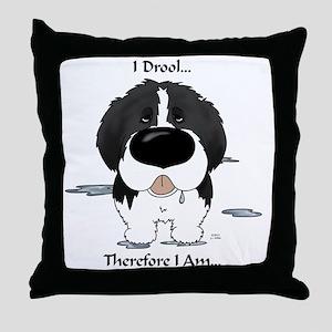 LandseerDroolLight Throw Pillow