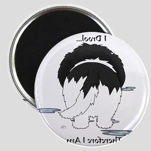 LandseerDroolMirrorLight Magnet