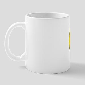 OvalLessIsMore Mug