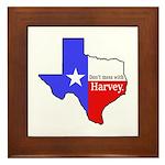 Dont Mess With Harvey Framed Tile