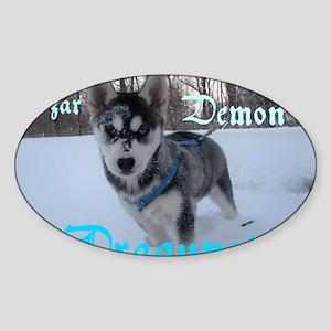 Czar D. Dragunov Sticker (Oval)