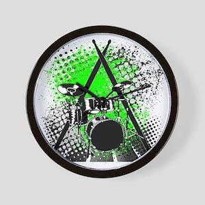 Drums  Sticks Wall Clock
