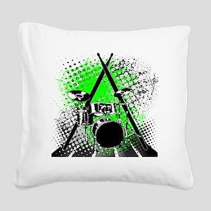 Drums  Sticks Square Canvas Pillow