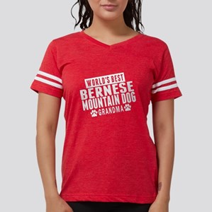 Worlds Best Bernese Mountain Dog Grandma T-Shirt
